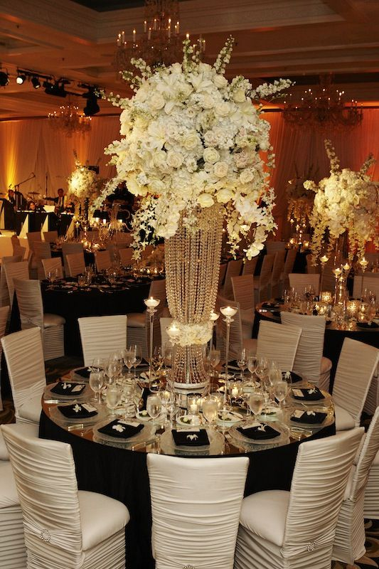 black and white table decorations for weddings imperial packages imperial design orlando fl 321 460 1817