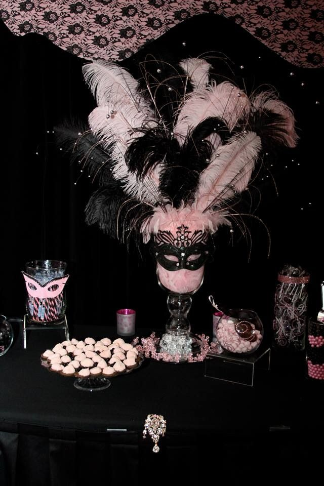 Silver Package Imperial Design Beauteous Masquerade Ball Table Decorations